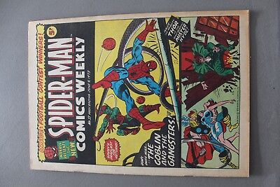 Marvel Comics Spiderman # 17 1973 Bronze Age Uk