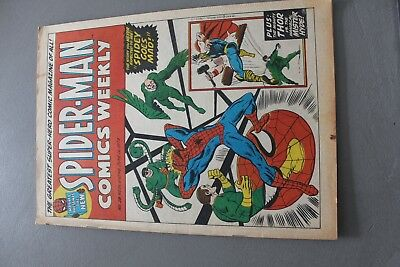 Marvel Comics Spiderman # 18 1973 Bronze Age Uk