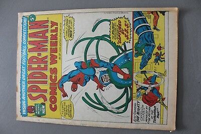 Marvel Comics Spiderman # 19 1973 Bronze Age Uk