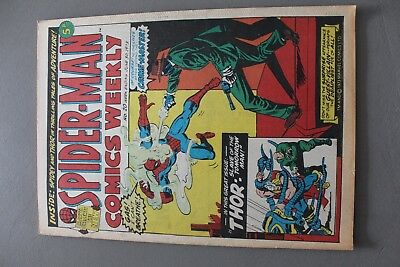 Marvel Comics Spiderman # 20 1973 Bronze Age Uk
