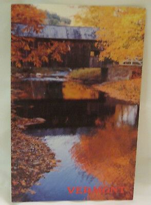 Autumn Reflections Vermont Postcard