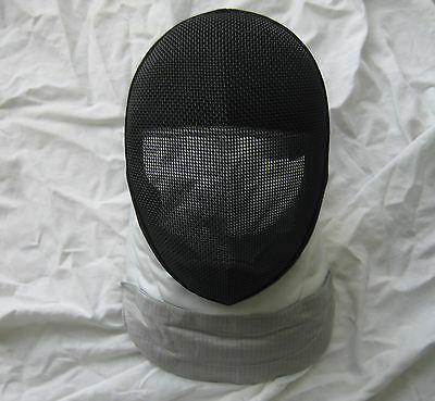 "Fencing Electric Foil Mask ""350 NW"" CE Level 1 With Replaceable Bib ""Small Size"""