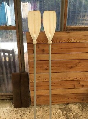 A pair Of Boat Oars