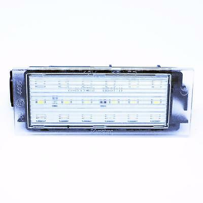 LEDPremium 2x LED NUMBER PLATE LIGHTS RENAULT MASTER 2 3 II III CANBUS