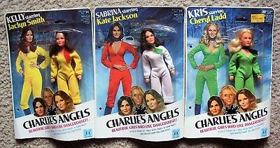 CHARLIE'S ANGELS Dolls CHERYL LADD Kate Jackson JACLYN SMITH Hasbro FIGURE MIP