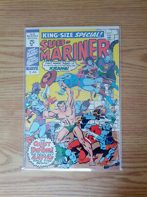 Sub-Mariner King-Size Special #1 Fine