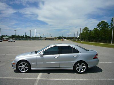 2007 Mercedes-Benz C-Class Sport Sedan 4-Door 2007 Mercedes Benz C230 Sport Sedan -Wholesale Project- No Reserve Project Car