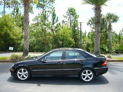 2006 Mercedes-Benz C-Class Sport Sedan 4-Door 2006 Mercedes Benz C230 Sport Sedan -Wholesale Project- No Reserve Project Car