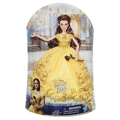 2017 Disney BEAUTY and the BEAST~ BELLE Enchanting Ball Gown Live Movie Doll NIB