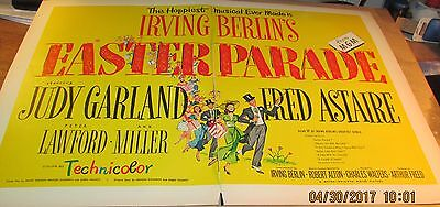 Movie Ad---IRVING BERLIN--EASTER PARADE--<1948.>---FRED ASTAIRE--JUDY GARLAND