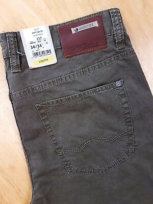 Camel Active Woodstock Mens Trousers Jeans Light Brown W32 L32 Rrp£89.99