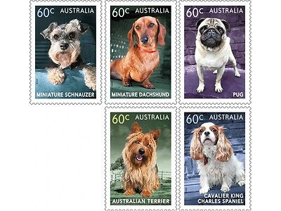 Australia 2013 Top Dogs Set Mint Never Hinged