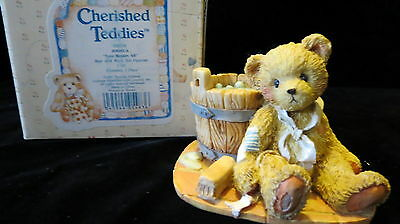 Cherished Teddies Collectable Bears By Enesco Joshua 950556