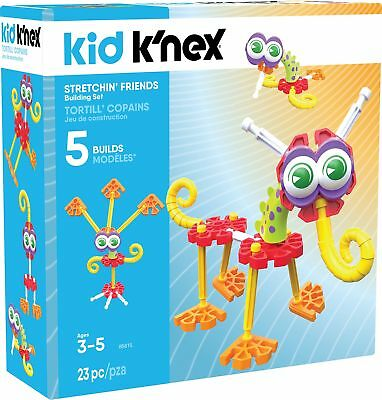 Kid KNEX Stretchin Friends Building Set for Ages 3 and Up Preschoo... -Brand New