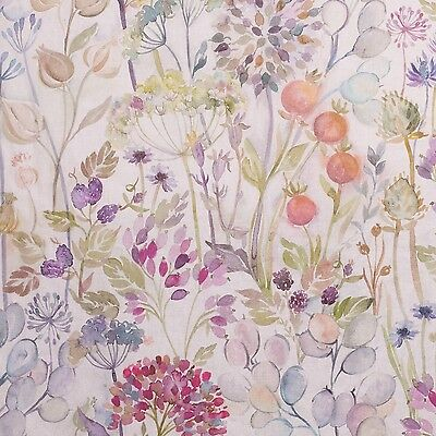 Voyage Decoration Hedgerow Linen fabric! 53% Linen, 47% Cotton. Free UK delivery