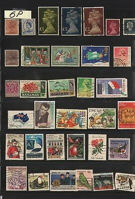Australia Lot Ofstamps #6P