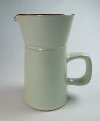 Denby China Summit Celadon Creamer Cream Pitcher Milk Jug