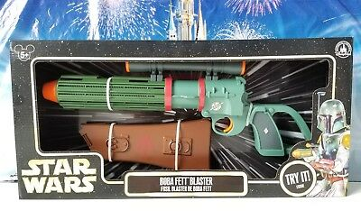 Disney Parks Exclusive Star Wars BOBA FETT Blaster Retired from the Parks