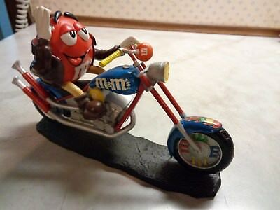 """Hamilton Collection M&m M&m's One Sweet Ride """"leader Of The Pack """" Motorcycle"""