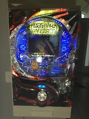 Star Wars: Battle of Darth Vader Pachinko Machine with cabinet and key