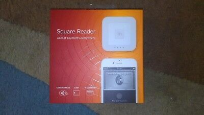 Square Contactless & Chip Reader Wireless Apple Pay Android VISA Mastercard POS