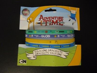 HMV EXCLUSIVE Adventure Time Silicone Bracelets - Set of 4