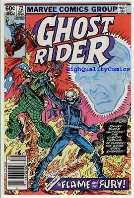 GHOST RIDER #72, FN+, Motocycle, Clown ,Movie, 1973, more GR's in our store