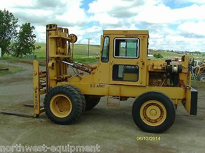 Windham 10,000 lbs. capacity Forklift diesel powered side shift fork postioners