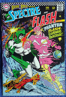Brave and the Bold #72 - The Spectre & The Flash! Infantino! Nice copy!