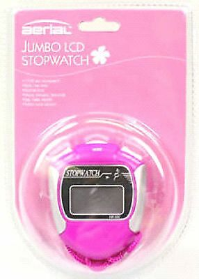Display Of 12 **aerial Full Function Pink Stop Watch** Jumbo Screen