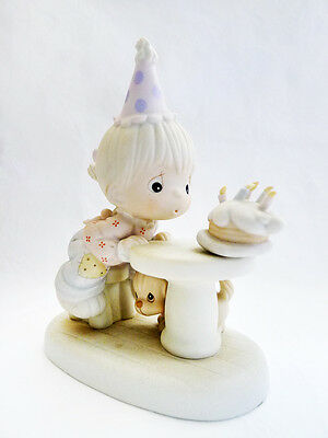 NIB VINTAGE 1992 PRECIOUS MOMENTS Birthday May Your Every Wish Come True 524298
