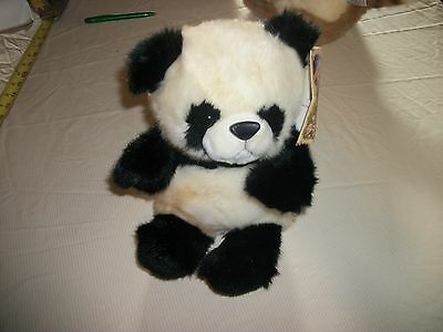 vintage 1997 endangered young'uns giant panda used with tags