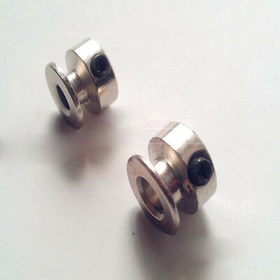 V-Groove Pulley With Fixed Screw for Motor shaft - 6.15mm 8.15mm Bore - Select
