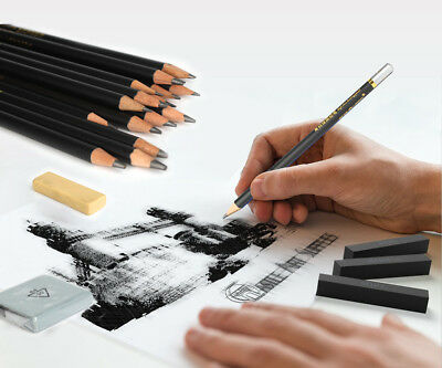 29 Piece Fine Art Marco Drawing Non-toxic Oil Base Pencils Set for Artist Sketch