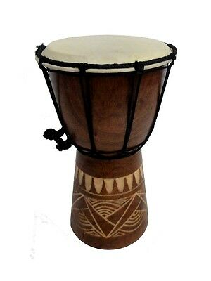 Miniture Djembe Drum - 25cm high with 15cm head