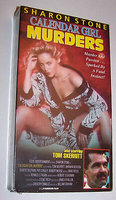 BRAND NEW! 1992 Calendar Girl Murders VHS Video Cassette Movie - Sharon Stone