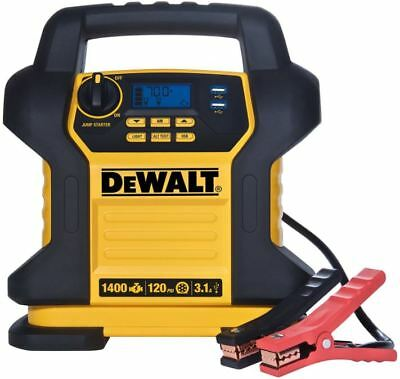 DEWALT Jump Starter, Digital Air Compressor, Car Battery Charger, Portable Power