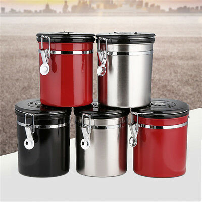 1.5L 500g New Tea Coffee Sugar Kitchen Storage Canisters Jars Pot Containers Set