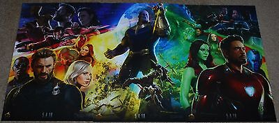 "Sdcc 2017 Exclusive Marvel Avengers Infinity War Set Of 3 Posters 13"" X 20"""