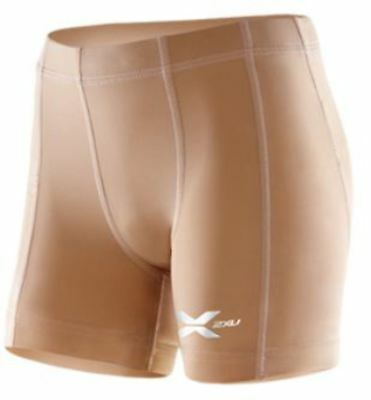 2XU Compression 1/2 Shorts (Beige) Youth SALE