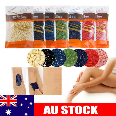 Professional Depilatory Wax Beads Hard Beans Hot Film Waxing Body Hair Removal