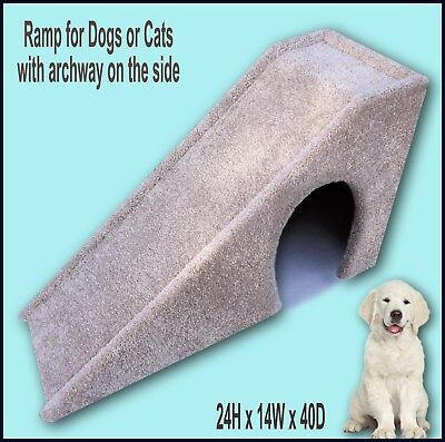 "Dog Ramp 24"" tall x 14"" wide x 40"" Deep Dog Ramp. Dogs furniture. Ramps & Stairs"