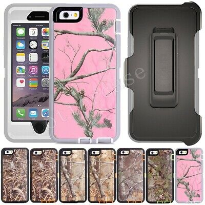 Full Protection Case & Belt Clip(Fits Otterbox Defender)For iPhone 6/SE/7/8 Plus