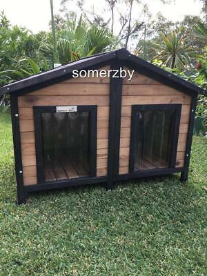 Dog Kennel Somerzby Double XL outdoor wooden pet house