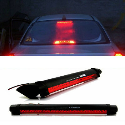 Universal 24 LED 12V Car High Mount Third 3RD Brake Stop Tail Light Lamp Red GL