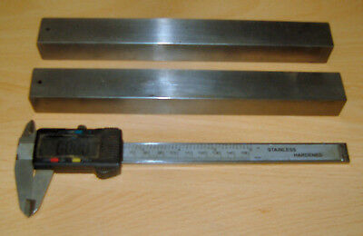 """Pair of hardened & ground parallels, 1.023"""" x .875"""" x 9.250"""" long"""