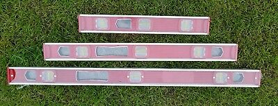 Builders Spirit Level Set  400MM, 600MM & 910mm
