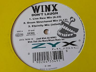 "Winx - Don't Laugh - 12"" Vinyl - 1995"