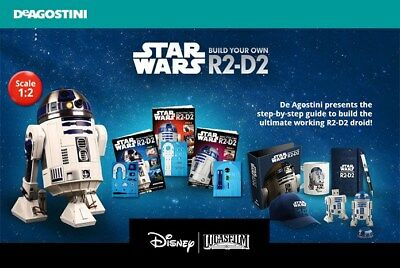 Build Your Own R2 D2 - Magazine ( Various Issues ) Star Wars r2d2 By DeAgostini