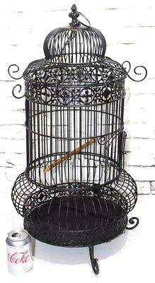vintage English Dome Top Bird Cage - FREE Shipping  [PL3837]